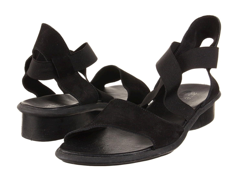 ArcheレディースSatia ' Sandal inソフトレッドレザー B00TYCDDCC 41 M EU|Noir Noir 41 M EU
