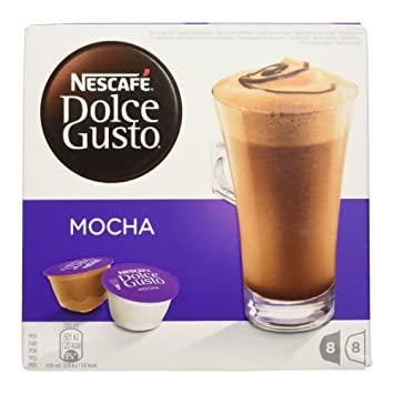Nescafé Dolce Gusto - Mocha - Café en Cápsulas - 8 porciones