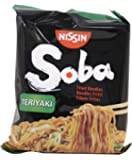 Nissin Soba Fried Instant Noodles - Teriyaki - 9 Packets