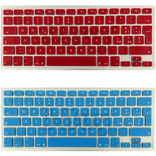 75 opinioni per i-Buy 2PCS Silicone Keyboard Cover Film for Macbook Air 13 Pro 13 Pro