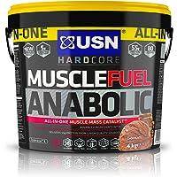 USN Muscle Fuel Anabolic Muscle Gain Shake Powder, Chocolate, 4 kg