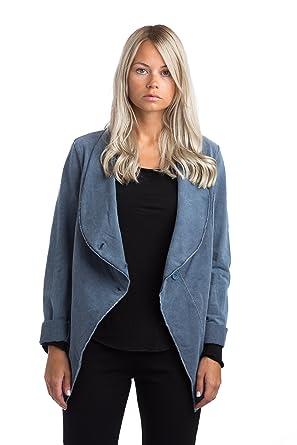 Abbino IG002 Jacken Damen - Made in Italy - Viele Farben - Mode Trend  Damenshirts Übergang Frühling Sommer Herbst Winter Charme Umhang Elegant  Sale Warm ...