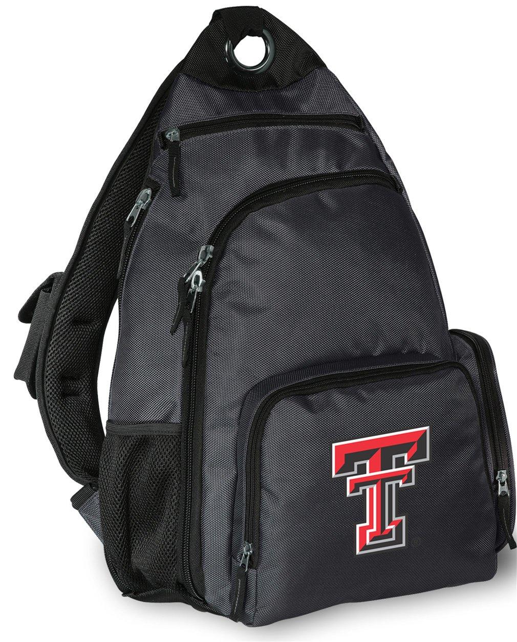 Texas Tech Backpack Cross Body Texas Tech Red Raiders Sling Bag