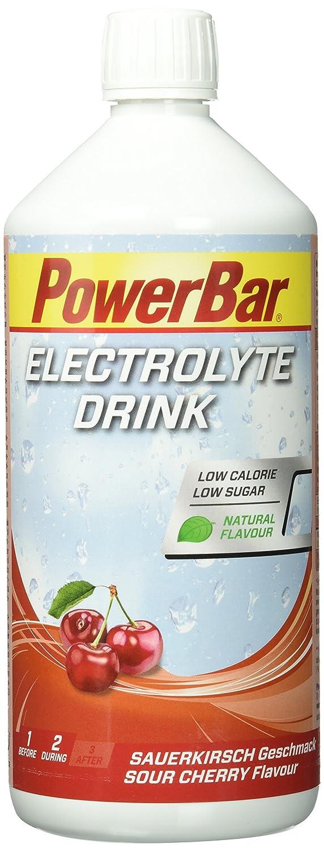 PowerBar Electrolyte Drink Sauerkirsch, 1er Pack (1 x 1 l): Amazon ...