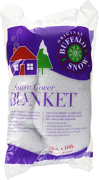 Buffalo Batting CB2351 Snow Cover Blanket 15in.x10ft. 1/Pkg