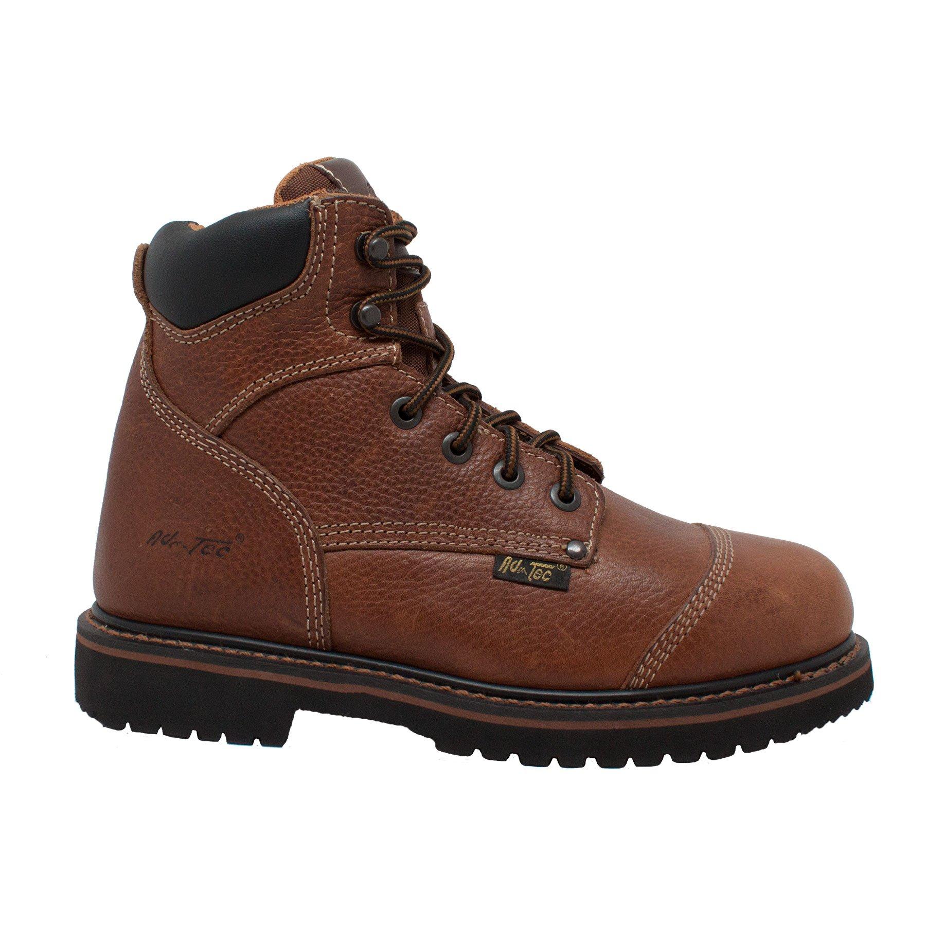 Adtec Men's 6 inch Comfort Work Boot, Light Brown, 8.5 W US by Adtec (Image #5)
