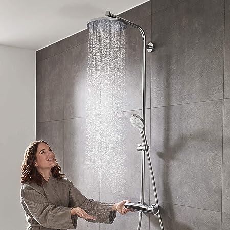 Hansgrohe Crometta S 240 - Sistema de ducha, 2 tipos de chorro ...