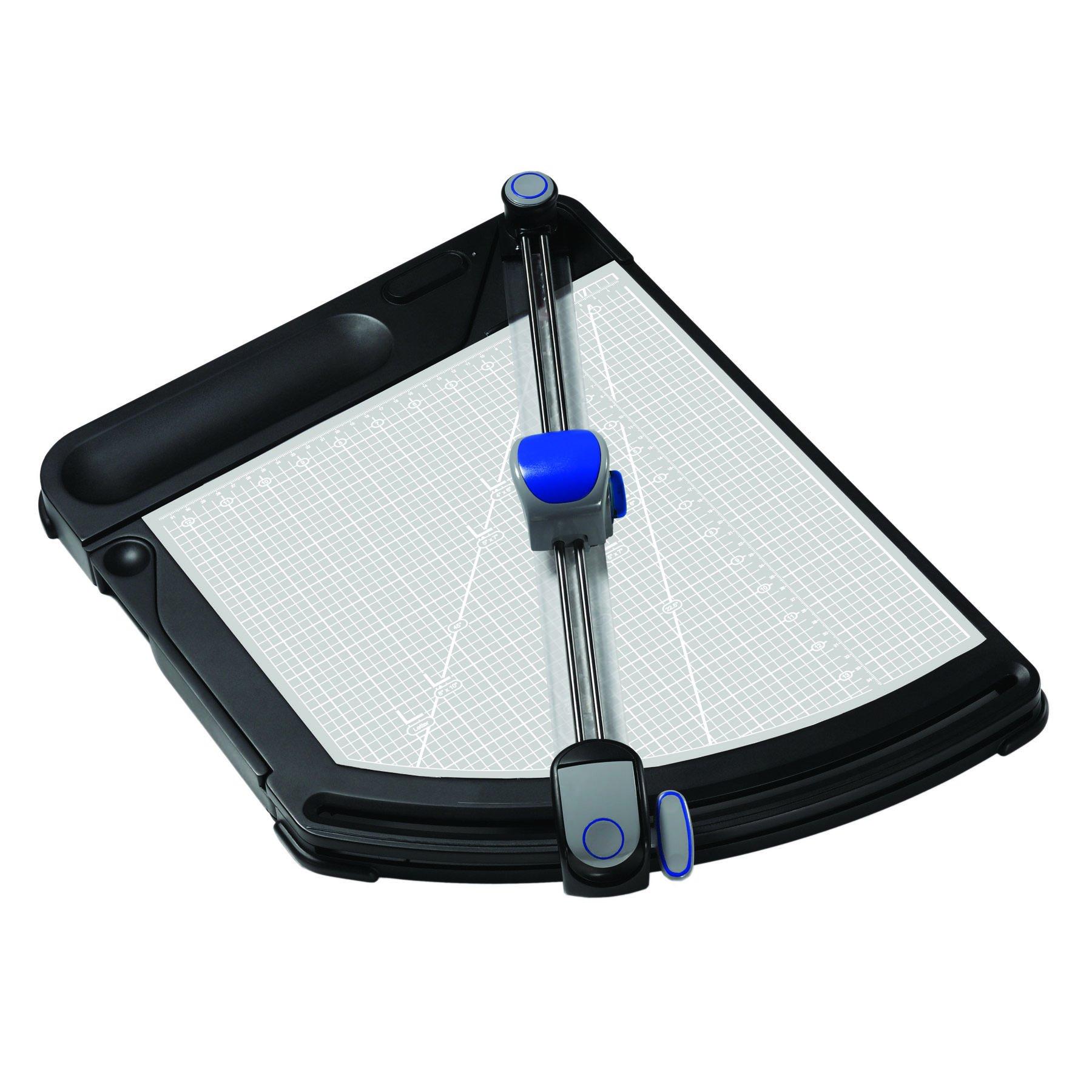 X-ACTO PivotCut Innovative Trimmer, Precision Cut, Rotary Trimmer, Black (26205)
