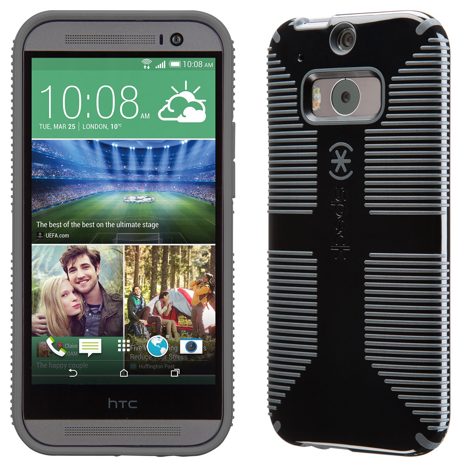 Amazon.com: Speck Products CandyShell Grip Case for HTC One ...
