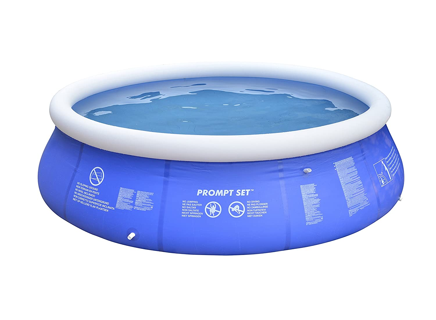 JILONG 706371 - Piscina (Piscina Hinchable, Círculo, PVC, 3,6 m, 760 mm)