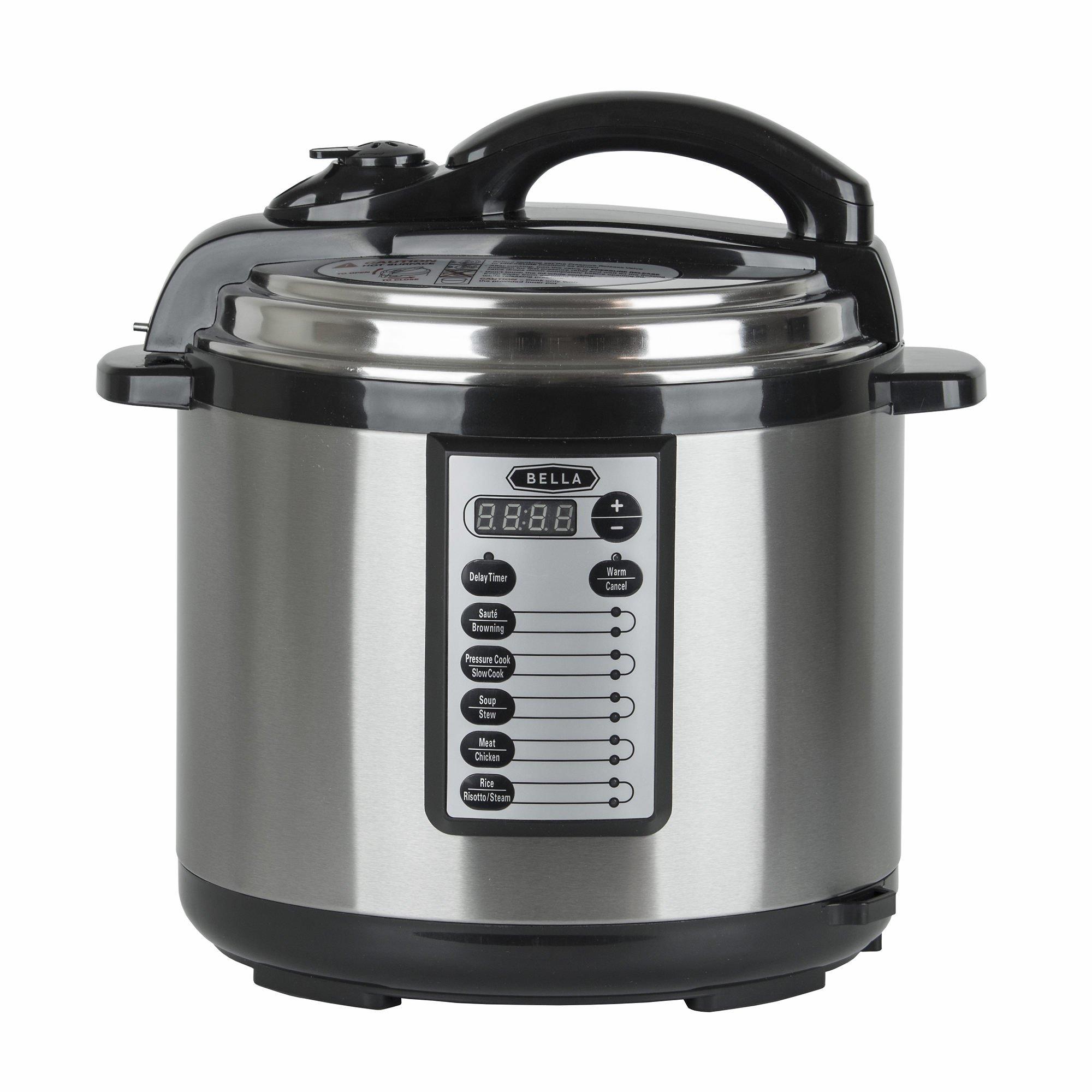 Bella 8-Qt. Pressure Cooker 14595