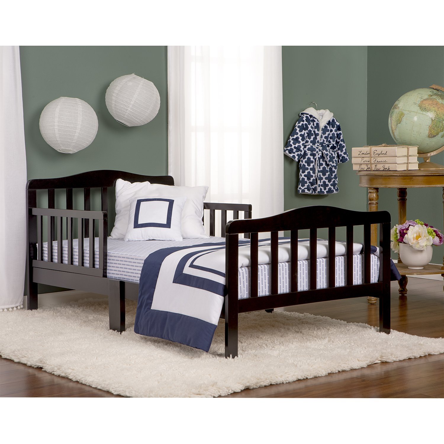 Amazon Dream On Me Classic Toddler Bed In Black Baby