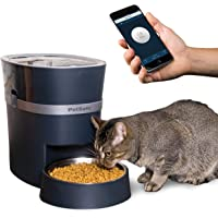 PetSafe Smart Feed Automatic Dog & Cat Feeder, 2ND Generation of Smart Feed Automatic Pet Feeder, Smartphone, 24-Cups, Wi-Fi Enabled App for iPhone & Android, Amazon Dash Replenishment Enabled