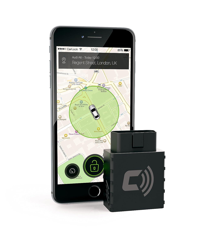 CarLock – Alarma para coche, aplicación móvil, GPS, web ...