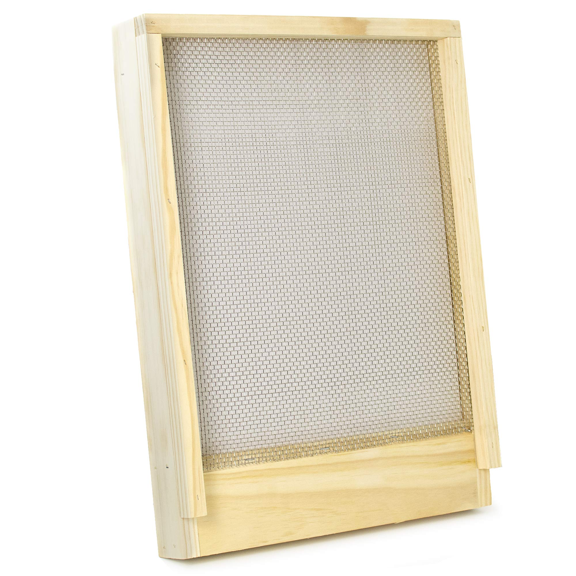 VIVO Screened Bottom Board Frame for Langstroth Beehive | Beekeeping Hive Screen Tool (BEE-HV00SC) by VIVO