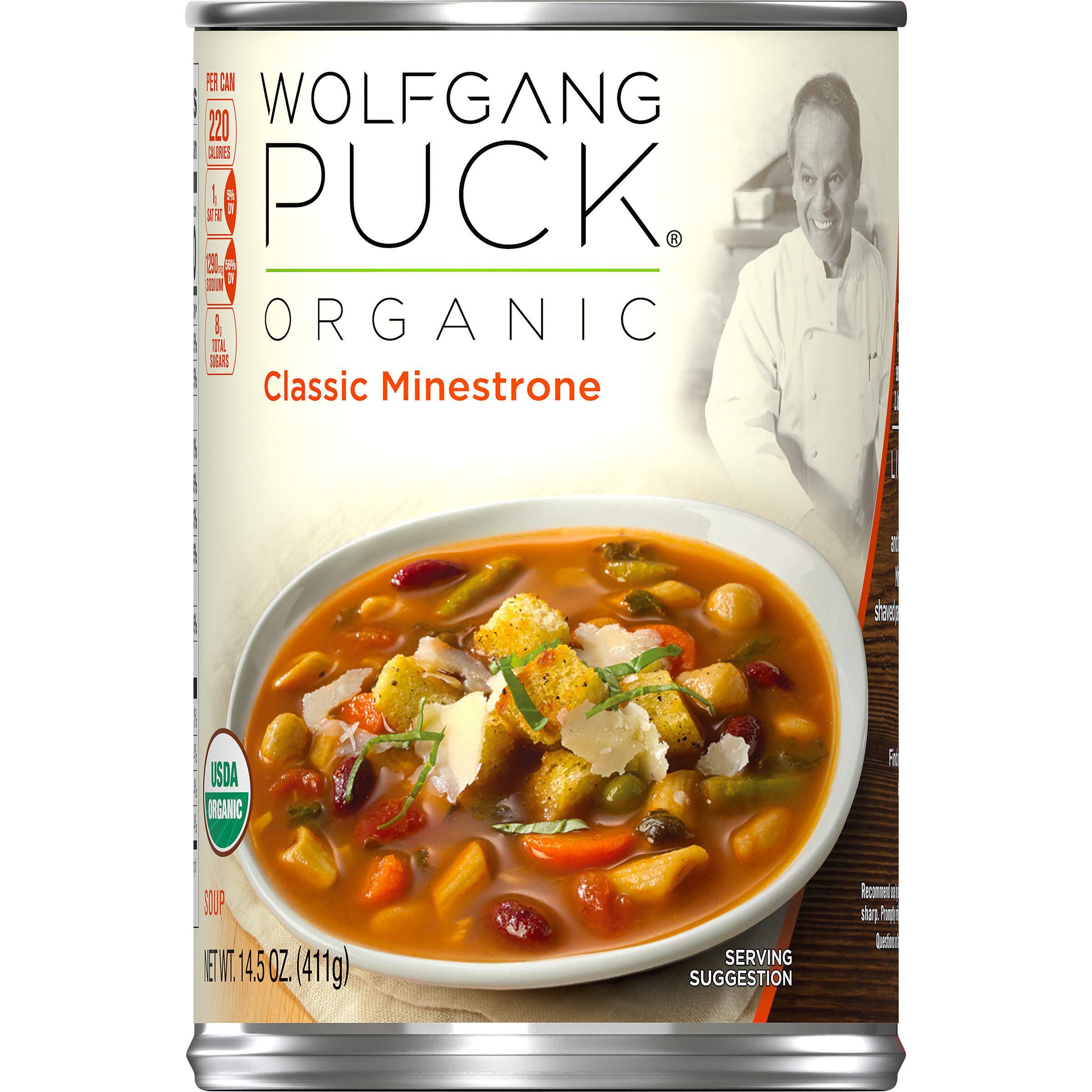 Amazoncom Wolfgang Puck Organic Old Fashioned Potato Soup 145