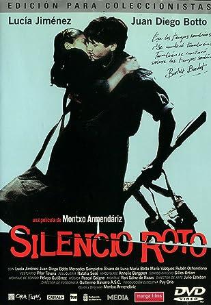 Silencio roto [DVD]: Amazon.es: Lucia Jimenez, Juan Diego Botto ...