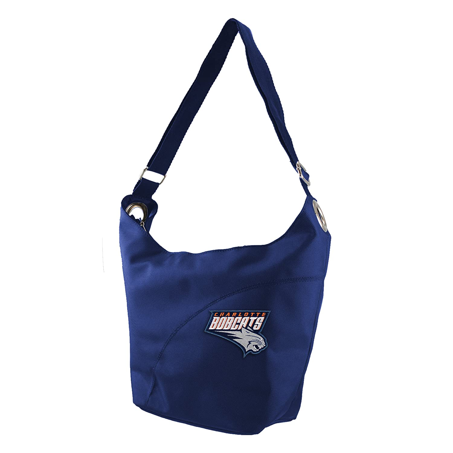 NBA Color Sheen Hobo Purse  Charlotte Bobcats B00CZB880Q