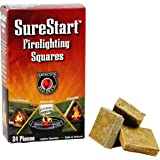 MEECO'S RED DEVIL Firelighting Squares, 144 pieces