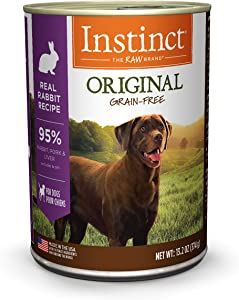 Instinct Original Grain Free Recipe Natural Wet Canned Dog Food