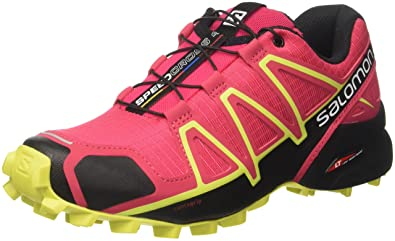 Salomon Damen Speedcross 4 Traillaufschuhe, (Virtual PinkBlackSulphur Spring 000), 42 EU