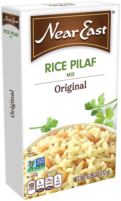 Amazon com : Near East Rice Pilaf Mix, Original, 6 9 Ounce
