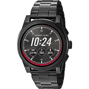 Michael Kors Mens Ionic Plated Grayson Smart Watch
