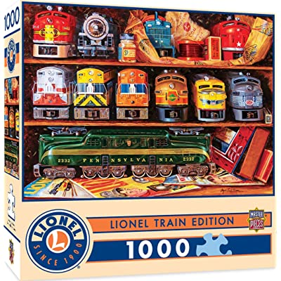 MasterPieces Lionel Trains Edition Jigsaw Puzzle, Well Stocked Shelves, Collectible Classic, 1000 Pieces: Toys & Games