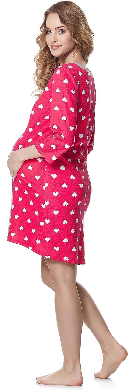 Bellivalini Premam/á Camis/ón Vestido Lactancia Maternidad Mujer BLV50-115