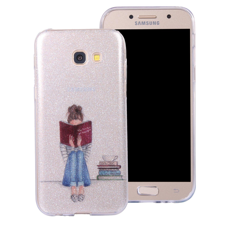 Anlike Coque de protection pour Samsung Galaxy A5 2017 (5,2 Zoll), Téléphone Coque Étui Housse Etui Case pour Samsung Galaxy A5 2017 (5,2 Zoll) - Pastèque AK-20127