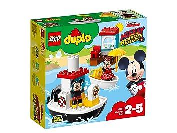 Lego 10881 Duplo Disney Junior Mickeys Boat Bath Toy For Toddlers