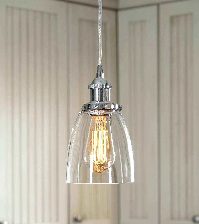 LightLady Studio - Mini Glass Pendant Light - Kitchen ...