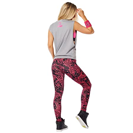 Amazon.com: Zumba Womens Inspired by Z Dropped Armhole Tank: Sports & Outdoors