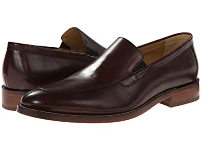 Cole Haan Mens Madison Split Venetian II Dark Brown - Loafers