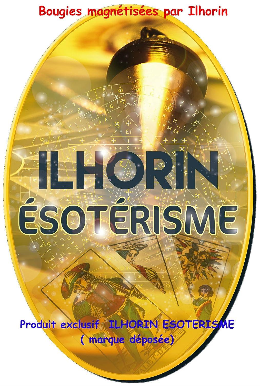 teint/ées dans la masse pour rituel livraison gratuite 3 Bougies Vert Vif magn/étis/ées