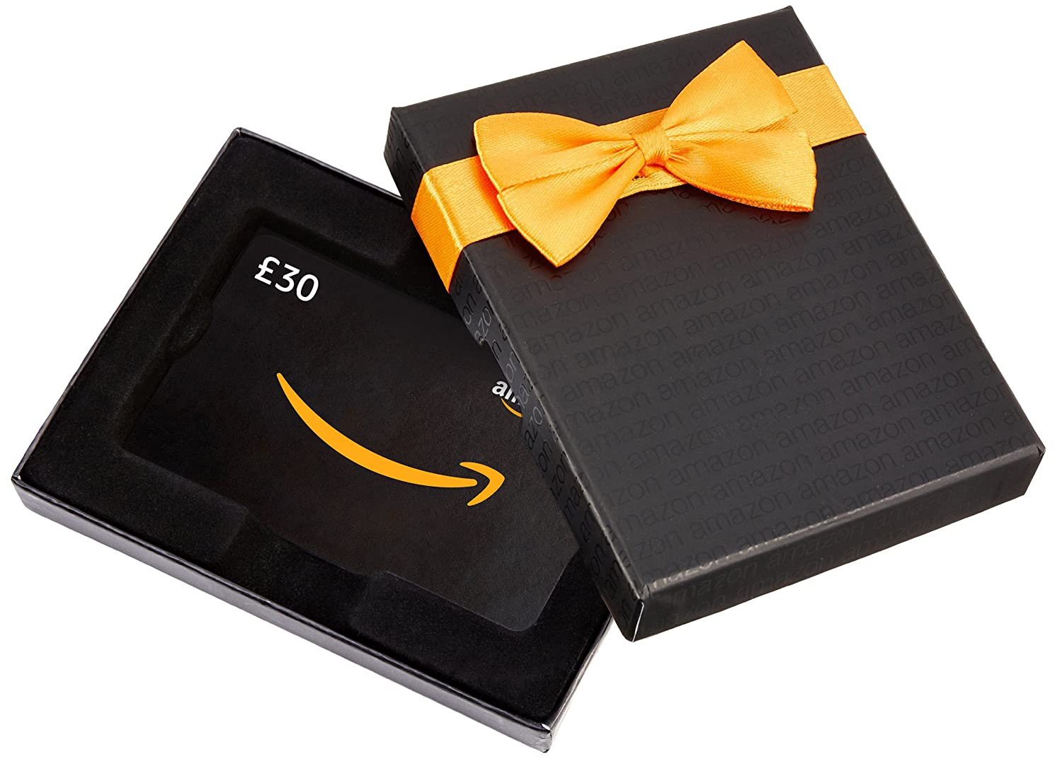 Amazon.co.uk Gift Card for Custom Amount in a Black Box - FREE One-Day Delivery Amazon EU S.à.r.l. VariableDenomination