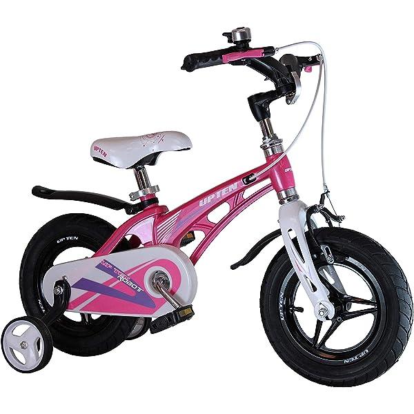 Upten Robot 12 Inch Alloy Children Bicycle Kids Bike Cycle Black