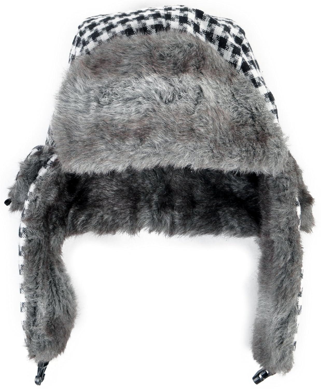 Dazzling Pattern Fur Trapper Aviator Hat