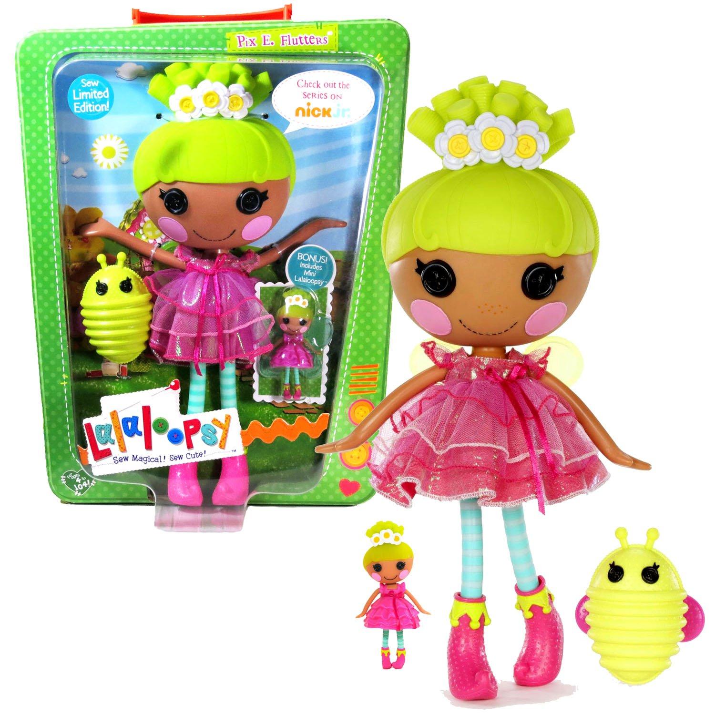 Flutters Figure MGA Sew Magical /& Sew Cute Lalaloopsy Soft Doll 10 Inch Pix E