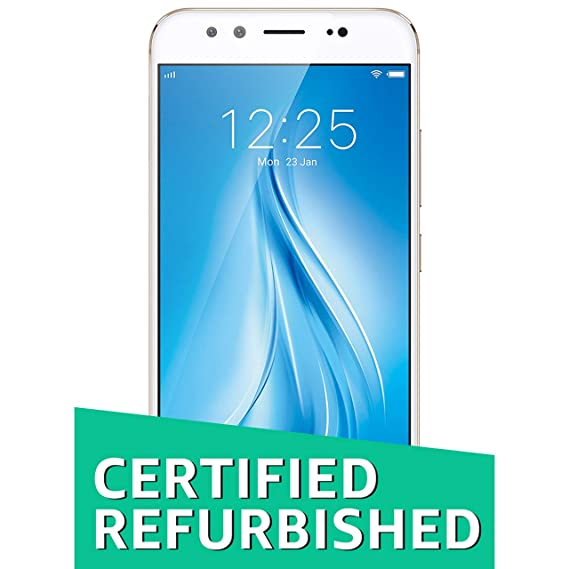 6ee4f276a Renewed) Vivo V5 Plus 1611 (Gold