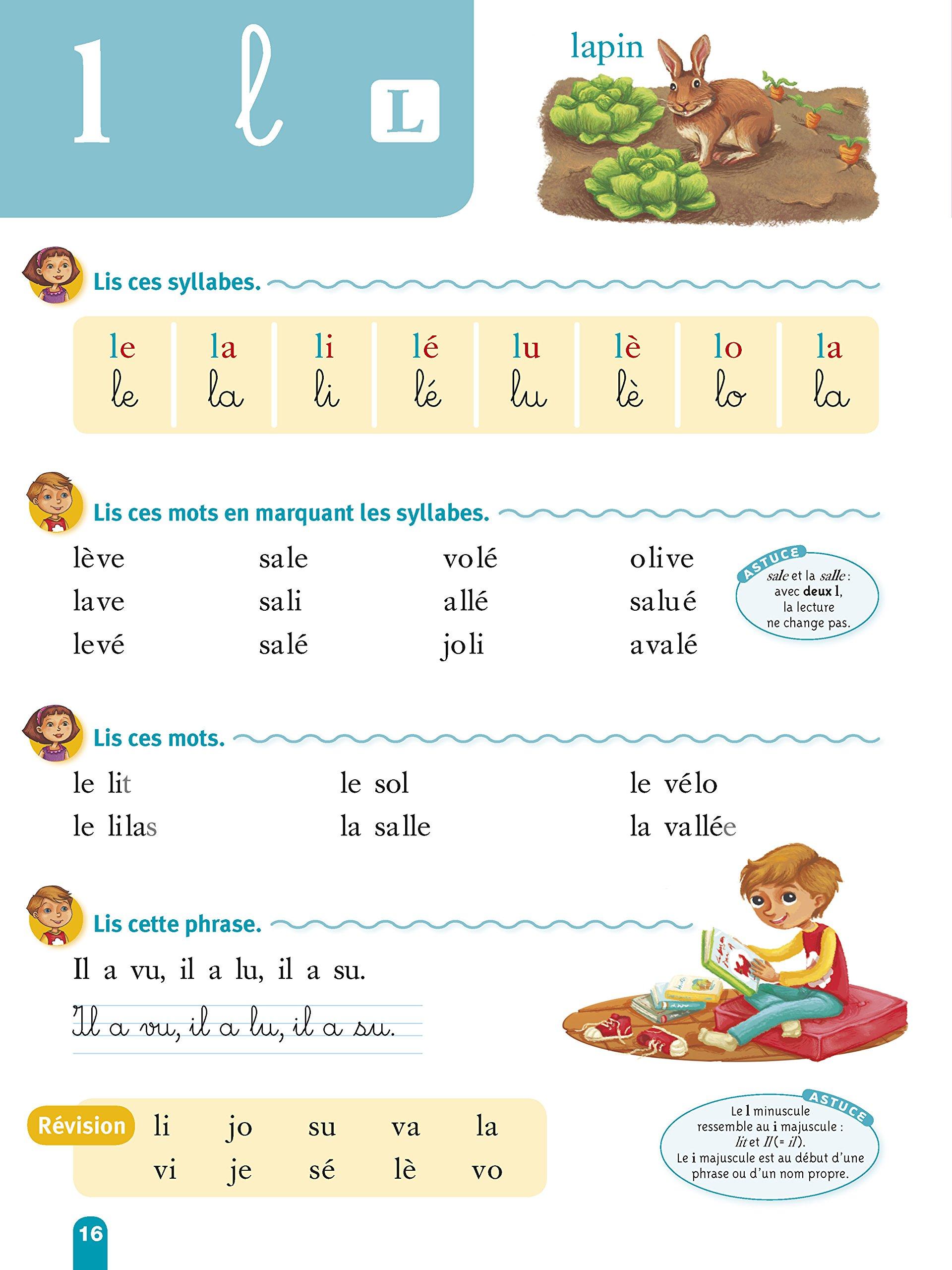 Très Amazon.fr - Ma méthode de lecture syllabique - Clémentine Delile  NR28