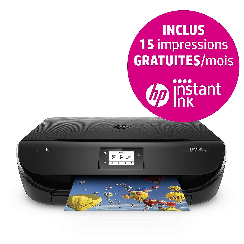HP ENVY 4525 - Impresora multifunción (inyección de tinta térmica, WiFi, compatible con HP Instant Ink, 600 x 300 DPI, 1200 x 1200 DPI, A4, 210 x 297 ...