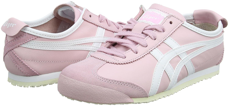 Onitsuka Tiger Mexico 66, Zapatillas para Mujer, Rosa (Parfait Pink/White 2001), 41.5 EU Asics