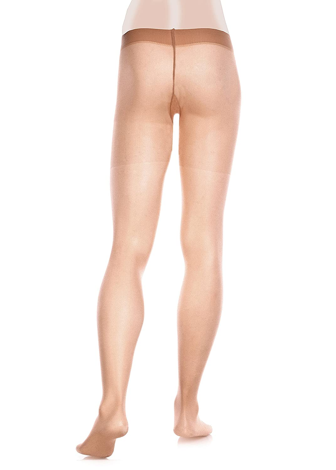 Glamory Leggings de Sport Semi-transparent Homme