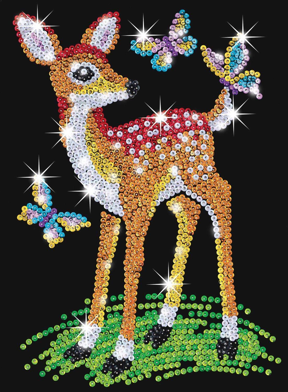 1413 Sequin Art Mosaico con Rejilla