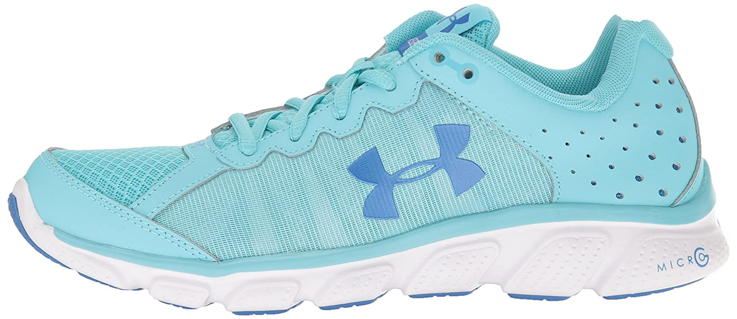 Under Armour Women's Micro G Assert 6 Running Shoe B01GPMGRHG 7 M US|Venetian Blue (448)/White