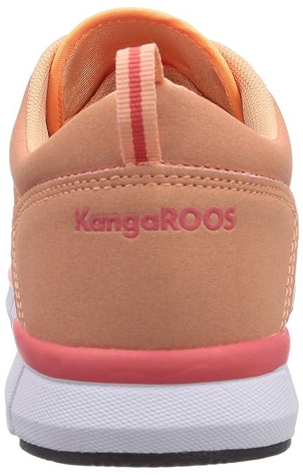 Kangaroos Kinderschuhe Sneakers Turnschuhe Laufschuhe 8005b 675 Rosa Neu mYIaraq