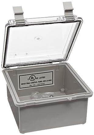 BUD Industries NBB-10260 caja de plástico para interiores estilo B ...