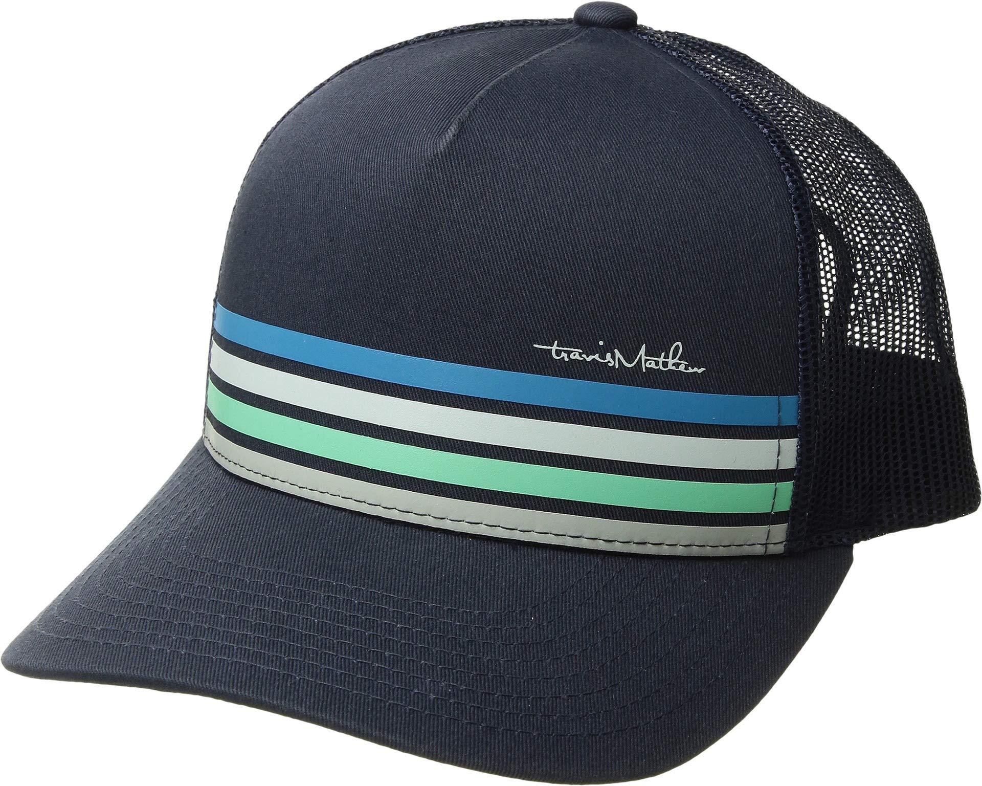 TravisMathew Boys J-Hoover Golf Cap, Navy, One Size by TravisMathew
