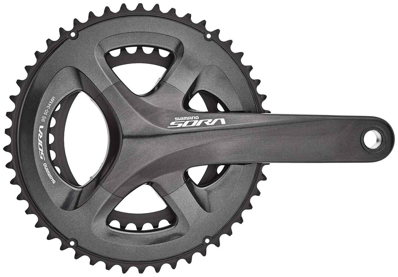 d1c3c6ab11e SHIMANO Sora FC-R3000 Crank Set 2x9-times 50-34 teeth grey/black 2018  Chainsets Mountain bike: Amazon.co.uk: Sports & Outdoors